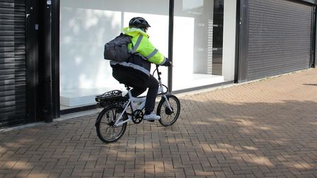 Hatfield town centre is a non-cycle zone. Picture: Charlotte McLaughlin