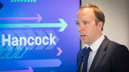 Matt Hancock has claimed that the Thomas Cook collapse was not related to Brexit. Photograph: Stefan