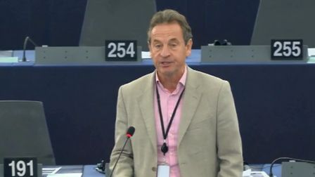 Chris Davies, a Liberal Democrat MEP. Photograph: European Parliament.