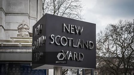 A view of New Scotland Yard office in London. Photograph: NurPhoto/PA.