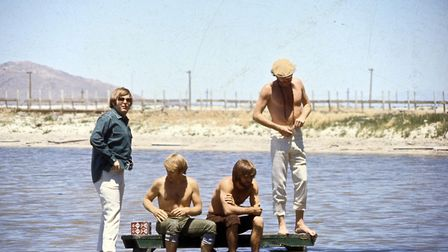 The Beach Boys' 1965 album track 'Salt Lake City' paid tribute to the place that, the lyric's claime