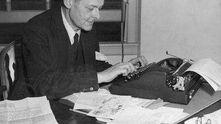ANGLOPHILE: American-born poet T>S> Eliot became a British citizen. Photo: Getty Images
