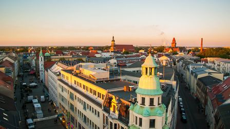 The view over the German city of Cottbus where Lower Sorbian is still spoken. Photo:Teodor Bordeianu