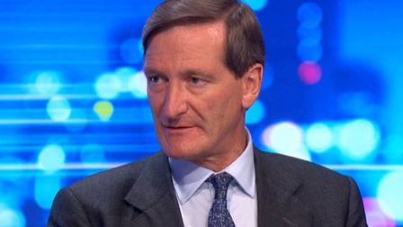 Dominic Grieve appears on the Peston programme. Photograph: ITV.