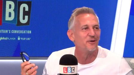 Gary Lineker burst out laughing when he was asked to choose between stopping Brexit or stopping Mara