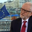 Jeremy Corbyn speaking to Andrew Marr. Picture: BBC
