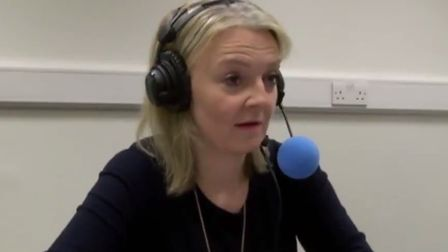 Liz Truss admitted that she does not know how the UK can legally leave the EU without a deal. Pictur