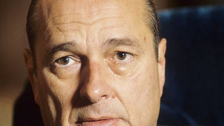 Former French president Jacques Chirac (question nine) Pic: Roger-Viollet/Topfoto