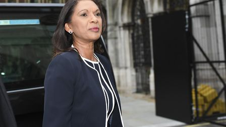 Businesswoman and lawyer Gina Miller arrives at the Royal Courts of Justice. (Photo by Alberto Pezza