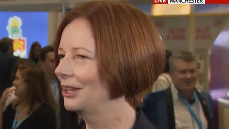 Former Australian PM Julia Gillard appeared to pour cold water over the UK's future trading relation