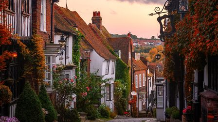 """The cobbled Mermaid Street in Rye, East Sussex, where Gavin Esler witnessed the """"normalisation of ly"""