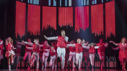 Big The Musical performed at the Dominion Theatre. Photograph: Alastair Muir.