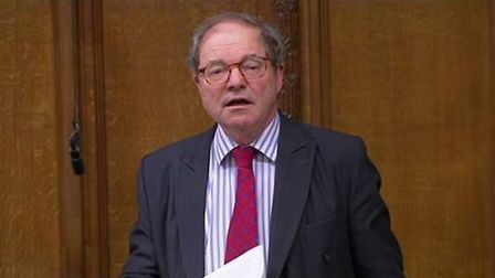 Sir Geoffrey Clifton-Brown in the House of Commons. Photograph: Parliament TV.