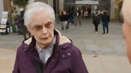 A furious member of the public was unequivocal in her views about Boris Johnson in his constituency