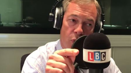 Nigel Farage's LBC show is undergoing an Ofcom impartiality investigation after the Brexit Party lea