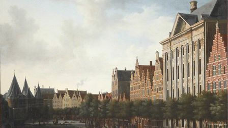 Gerrit Berckheyde's 'View of Amsterdam', c.1675. Picture: Collection of Brasenose College, Oxford