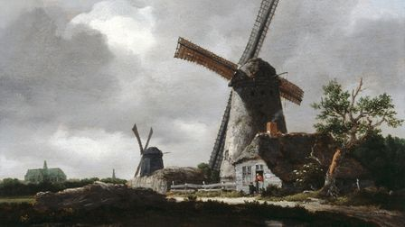 Jacob van Ruisdael's 'Landscape with Windmills near Haarlem' (1655). Picture: Dulwich Picture Galler