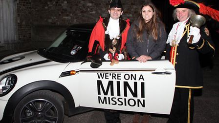 Mini Mission challenge. Lauren Lemmer from Honiton is on a mission to win a Mini. If she completes a