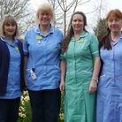 Healthcare Hero winners Seaton Home Nursing Team. Pictured left to right Caroline Shuttleworth, Liz