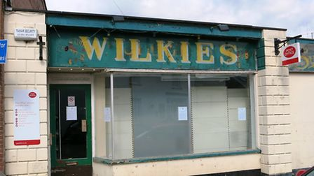 The former Wilkies store at Colyton