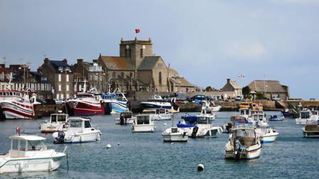 Barfleur in Normandy. Photo by Chris Carson