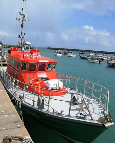 The Barfleur lifeboat. Photo by Chris Carson