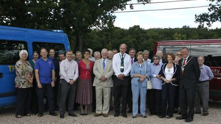 The launch of the new health and wellbeing accessible transport service by TRIP Community Transport