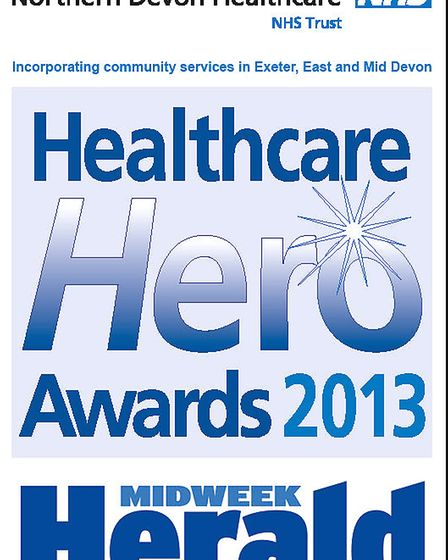 Healthcare Hero Awards 2013.