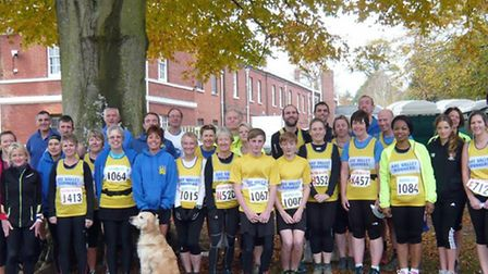 The AVR runers at the Bicton Blister