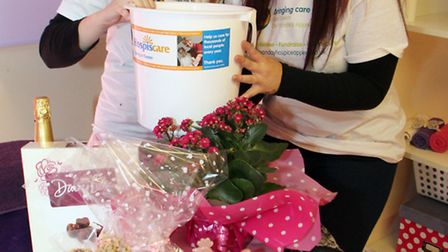 Staff at Sugar Beauty held a special pamper day on Saturday, March 22 to raise money for Hospiscare.