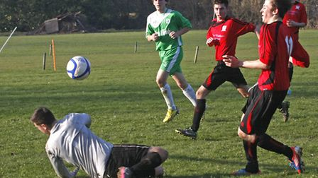 Honiton Town 2nds at home to Amory Green Rovers. Photo by Terry Ife. Ref mhsp 2659-11-14TI To order