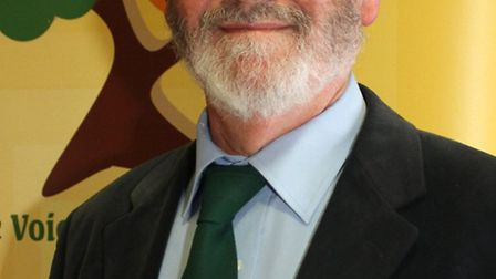 Paul Edwards-Green Party. Ref mhh 2998-15-15SH. Picture: Simon Horn