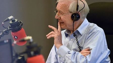 John Humphrys on Radio 4's Today programme. Photograph: BBC.