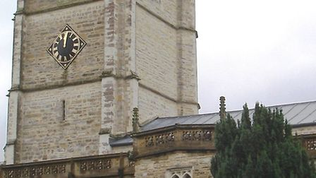 The hands of the Minster clock are set to stop at 12. Picture CHRIS CARSON