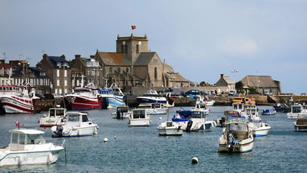 The harbour at Barfleur in Normandy from where William the Conqueror set sail in 1066. Picture: CHR