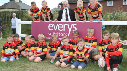 Honiton RFC former club chairman Gordon Lee from Everys who have been club sponsors for nearly than