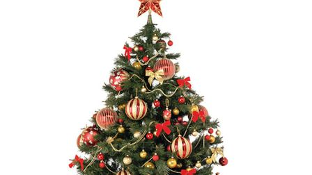 Christmas-Tree-gold-and-red-1