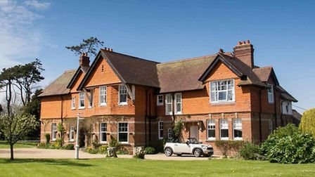 The award winning Dower House Hotel at Rousdon
