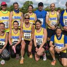 Axe Valley Runners at the Ottery 10k meeting