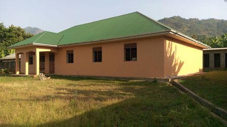 The newly completed girls' hostel. Picture courtesy of Richard Lucas