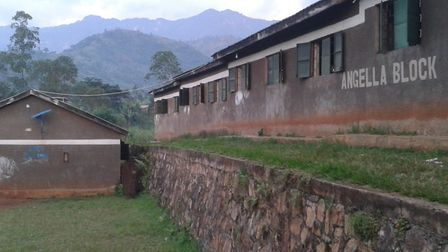 The current classroom block. Picture courtesy of Richard Lucas