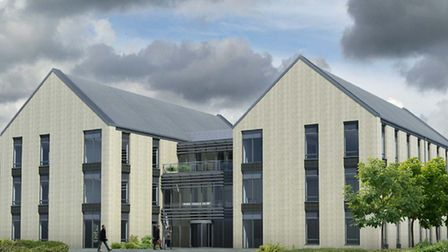 Proposed new headquarters for East Devon District Council.