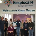 Patients and staff at Kings House Day Centre, in Honiton.