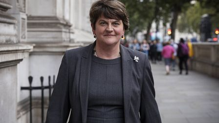 Arlene Foster, leader of the DUP. Photo by Dan Kitwood/Getty Images