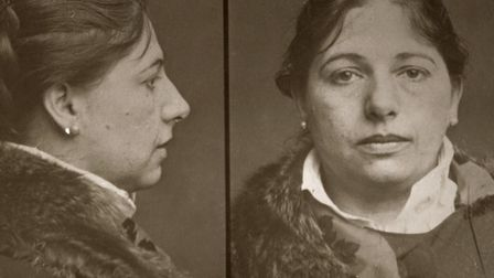 Mugshot of Mata Hari, 13.02.1917, 1917. Private Collection. Photo: Fine Art Images/Heritage Images/G