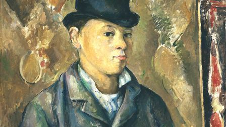 The artist's son Paul by Cezanne. Picture: National Gallery of Art, Washington DC