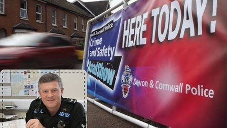 Sergeant Andy Squires will be bringing the crime and safety road show to Seaton in February.