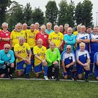 The players who took part in the latest Walking Football Tounrment held in Axminster.