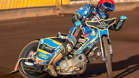 Cases' Somerset Rebels top scorer in the home success over Swindon Robins and Rider of the Night win