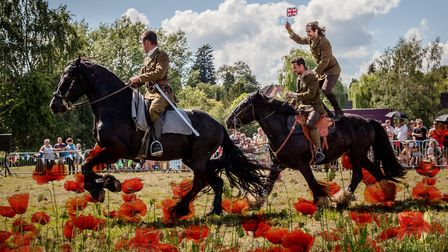 Cavalry of Heroes WW1 Horses and Heroes coming to Melplash Show. Picture: CONTRIBUTED